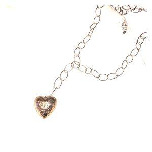 """Filigree"" Heart Necklace"